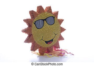 Pinata sun - Big Pinata sun wearing sunglasses