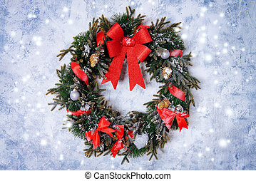 christmas wreath - Beautiful Christmas wreath.
