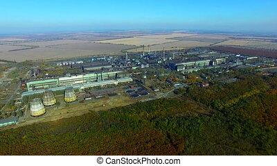 Flight near the steel plant - Flight near the steel plan....