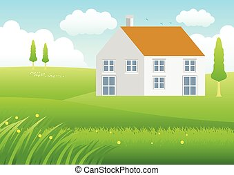 House On Meadow