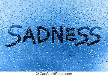 sadness concept