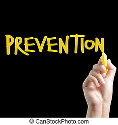 Hand written PREVENTION
