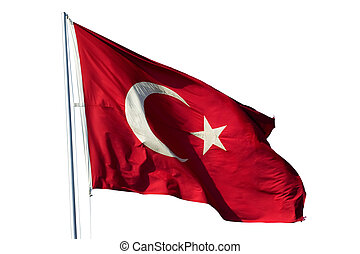 Flag of Turkey - National flag of Republic of Turkey...