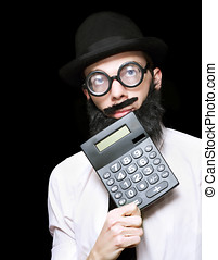 Financial And Accounting Genius With Calculator - Don Of...