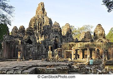 Angkar Thom - One of many temples in the vast Angkor...