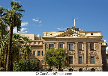 Arizona state capitol - State Capitol in Phoenix, capital of...