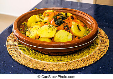 Libanese Food - Typical Libanese Arabic Food Ready to be...