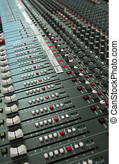 audio mixing board console - audio mixing board