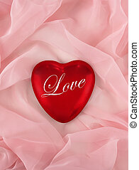 """valentine heart with the word \""""love\"""""""