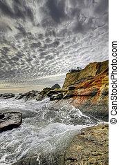 Crashing Waves at Cape Kiwanda and Haystack Rock