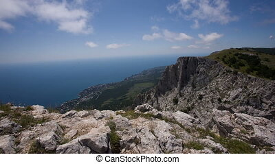 Scenic Views of the Sea From the Mountain Ai Petri - views...