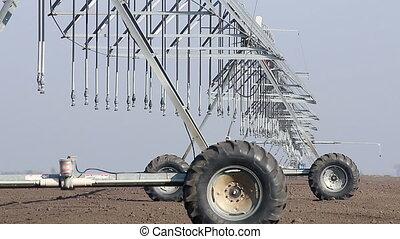 center pivot sprinkler system agriculture