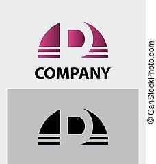 Alphabet symbol Letter D