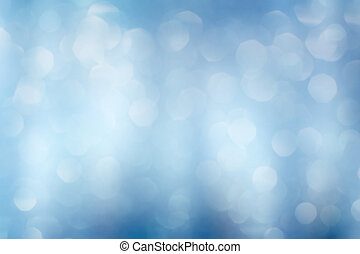 Blue abstract defocused background