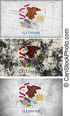 Flag of illinois - Great Image of the Flag of Illinois