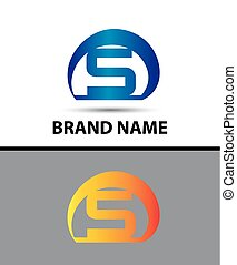 Alphabetical Logo Design Concepts Letter S