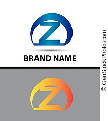 Alphabetical Logo Design Concepts Letter Z