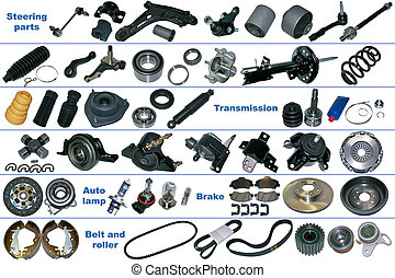 The most popular spare parts for car - The most popular...