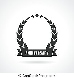 Blank anniversary icon