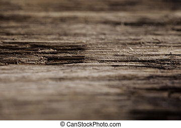 Texture of old rotten wood closeup - Texture of old rotten...