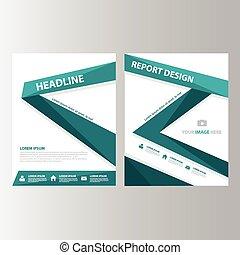 Green Brochure templates