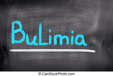 bulimia, concepto,