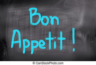 Bon Appetit Concept
