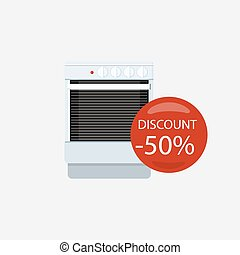 Sale of Household Appliances Gas Stove