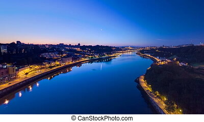 Before Sunrise at the most emblematic area of Douro river...