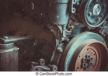 Gasoline internal combustion engine