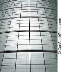 Corporate building glass abstract background