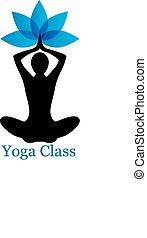 yoga lotus icon