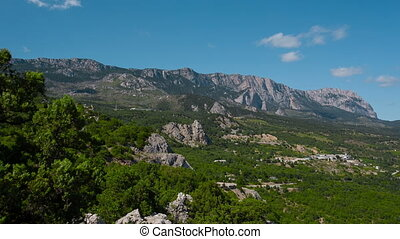 Crimean Mountains Landscape - Crimean mountains landscape in...