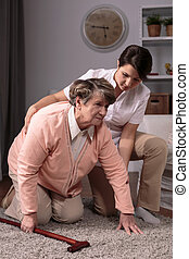 Professional private caregiver