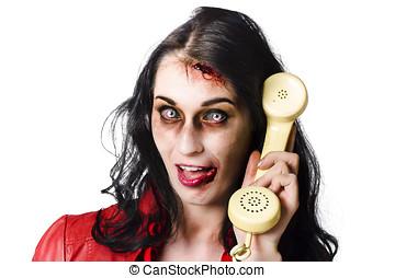 malo, noticias, teléfono, llamada,