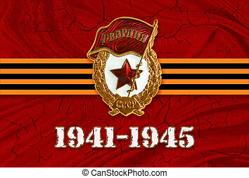 9 May Victory day Great war 1941 1945. Russia Germany