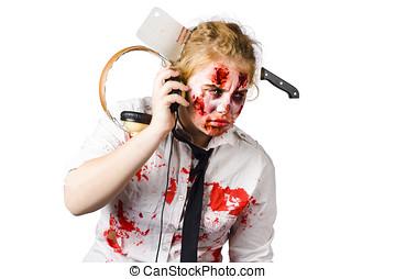 Anthem of the zombie apocalypse - Cult crazed zombie girl...