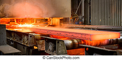 Steel Works integrated steel production cycle - The main...