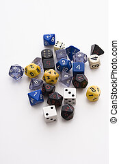 Dice of all form