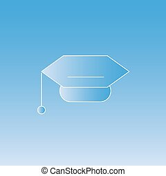 Mortar Board cap graduate - Mortar Board academic cap...
