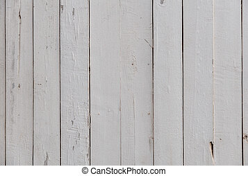 white of small wooden planks wall for background