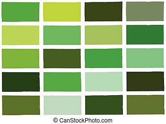 Green Tone Color Shade Background Illustration