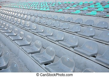 STADIUM arena seats