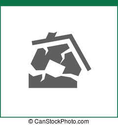 Property insurance icon