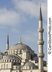 The Blue Mosque, Sultanahmet Camii, Istanbul, Turkey