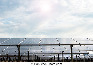 Power plant using renewable solar energy with sun - Power...