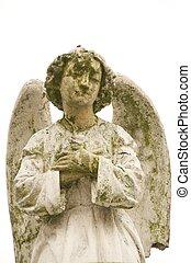angel - stone angel in Ecuador