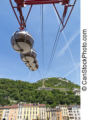 Cableway - The cableway of Grenoble