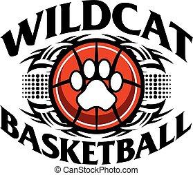 wildcat basketball - tribal wildcat basketball team design...