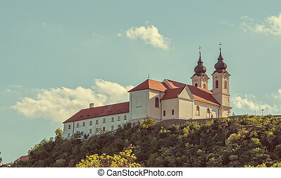 Benedictine abbey in Tihany, Hungary